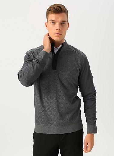 Cotton Bar Sweatshirt Gri